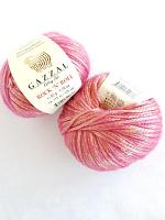 Пряжа ROCK'N`ROLL (Рок-н-Ролл), цвет 13190 золотисто-розовый