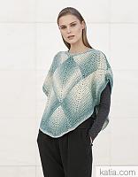 Пряжа Cotton-Merino Plus (Коттон-Мерино плюс), цвет 301 бирюза