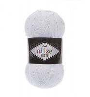 Пряжа Sal Abiye (Шал Абие), цвет 055 белый