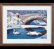 """Набор для вышивания """"Зимний пейзаж"""" ПС-293"""
