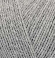 Пряжа Ализе Супервош цвет 21 светло-серый