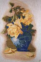 """Набор для вышивания """"Желтые розы"""""""