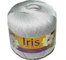Ирис бобинный (Iris 100% 100% мерсеризованный хлопок 900/100г) 89 стальной