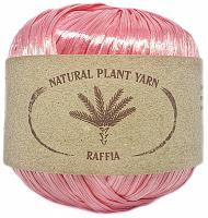 Пряжа Рафия (Raffia), цвет 87 азалия