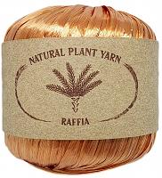 Пряжа Рафия (Raffia), цвет 49 медный