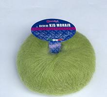 Пряжа Kid Mohair (Кид мохер) 0121 салатовый
