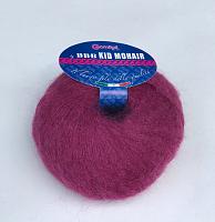 Пряжа Kid Mohair (Кид мохер) 8755 фиолетовый кларет