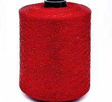 Пайетки (PAILLETTES, 100% полиамид, 720м/100г) 001 - красный