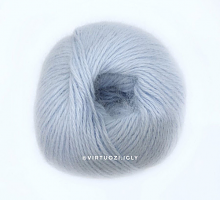 Серена (Serena 50% ангора, 20% шерсть, 30% полиамид 500м/100г) 7331 нежный голубой