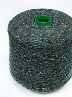 Сета Буретте 2/14 (100% шёлк буретт, 700м/100г) 204 темно-зеленый