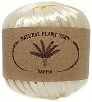 Пряжа Рафия (Raffia), цвет 117 перламутр