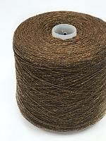 Сета Буретте 2/14 (100% шёлк бурет, 700м/100г) 20 коричневый