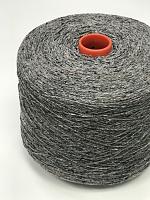 Сета Буретте 2/14 (100% шёлк буретт, 700м/100г) 201 серый меланж