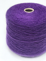 Сильвия (47% хлопок, 27% мохер, 26% меринос 300м/100г) 4013 фиолетовый