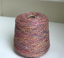 Искья (50% кашемир, 12% меринос, 38% хлопок, 185м) 11234 красно-желто-фиолетовый