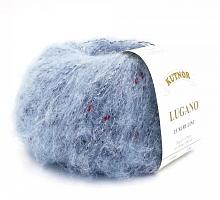 Пряжа Lugano (Лугано) 112959 голубая сталь
