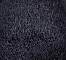 Пряжа Рэббит ангора (Rabbit Angora), цвет 02 черный
