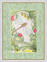 """Набор для вышивания """"Первые лучи. В саду"""""""