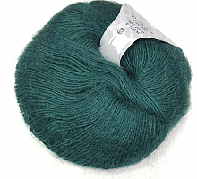 Пряжа Сетал (Setal), цвет 0015 темная зелень