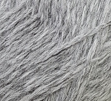 Пряжа Рэббит ангора (Rabbit Angora), цвет 08 светло-серый