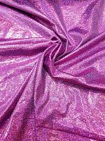 Трикотаж диско фиолетовый