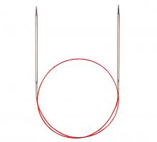 Спицы никелированные круговые с удлиненным кончиком, №3, 100 см
