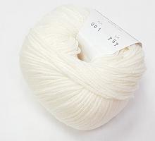 Мерино 125 (Merino 125), цвет 001 белый