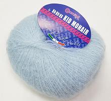 Пряжа Kid Mohair (Кид мохер) 6277 небесно-голубой