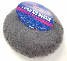 Пряжа Kid Mohair (Кид мохер) 305 серый