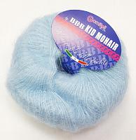 Пряжа Kid Mohair (Кид мохер) 109 нежно-голубой