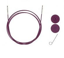 Тросик (заглушки 2шт, ключик) для съемных спиц, длина 76 (100)см