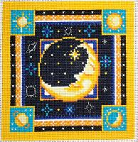 """Набор для вышивания арт.СС-644 """"Луна"""" 20x20 см"""