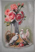 """Набор для вышивания """"Розы и голуби"""""""