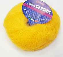 Пряжа Kid Mohair (Кид Мохер) 123 желтый