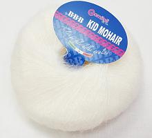 Пряжа Kid Mohair (Кид мохер) 100 белый