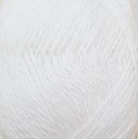 Пряжа Рэббит ангора (Rabbit Angora), цвет 01 белый