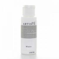 Краска акриловая ARTISTE белая
