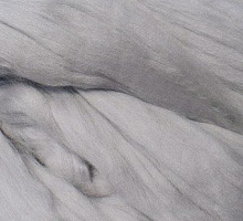 Пряжа LG_Wool (ЛГ Шерсть) для валяния 100% шерсть 100 г  0007 св.серый