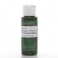 Краска акриловая ARTISTE грязно-зеленый