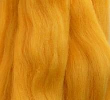 Пряжа LG_Wool (ЛГ Шерсть) для валяния 100% шерсть 100 г  0216 канарейка