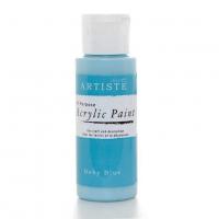 Краска акриловая ARTISTE бледно-голубой