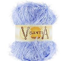 Visantia «TRAFKA» 100 % полиэстер  № 0007 голубой