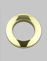 Люверсы шторные трехзамковые золото