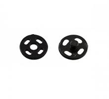 Кнопки пришивные пластик 7 мм., 6 шт. черные