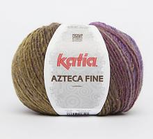 Пряжа Azteca Fine  (Ацтека Файн) 216 сиреневый-горчичный