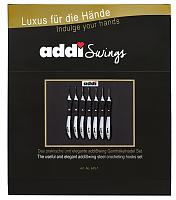 Набор крючков вязальный с эргономичной пластиковой ручкой ADDISWING