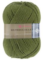 «Мериносовая» 252 зеленый горошек