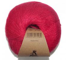 Пряжа Альпака Силк (Alpaca Silk), цвет 1505 темная малина