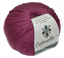 Пряжа Катенелла (Catenella) 367 пьяная вишня