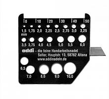 Измеритель спиц с ножом addi